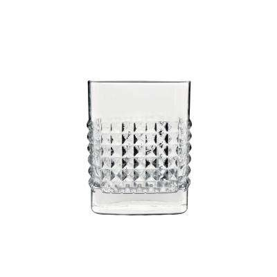Mixology 12.75 fl. oz. Lead-Free Crystal Glass Elixir DOF Drinking Glass (4-Pack)