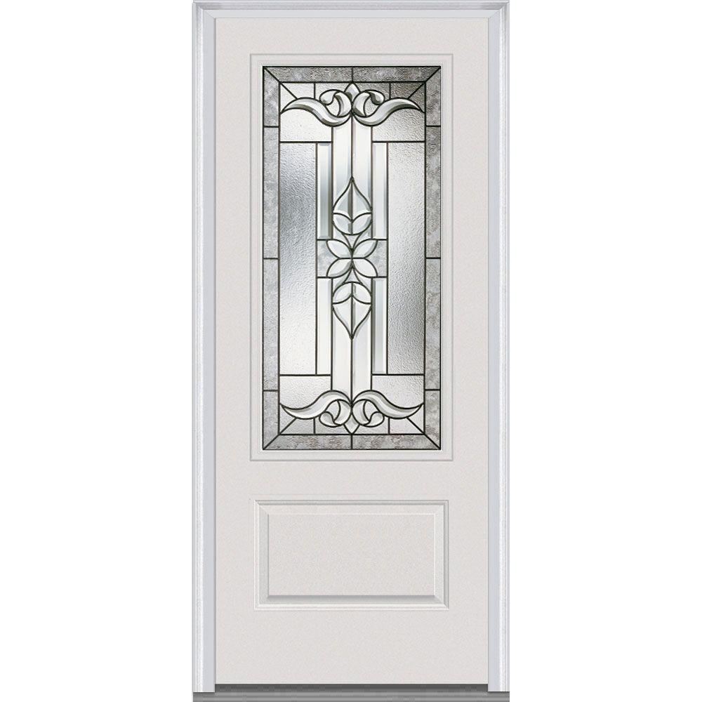 36 in. x 80 in. Cadence Left-Hand 3/4 Lite 1-Panel Classic