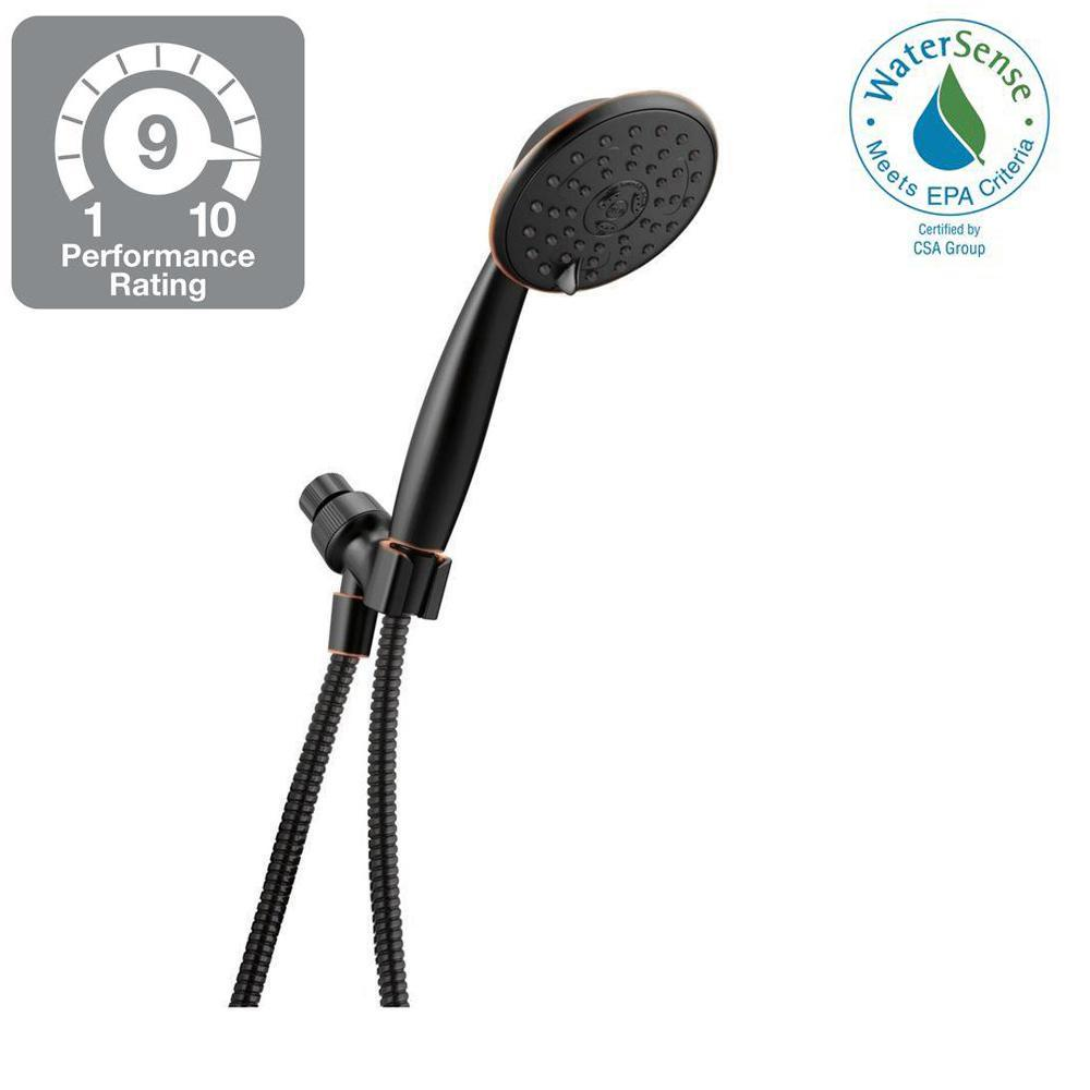 Delta Porter 3 Spray Handheld Showerhead In Spotshield Oil Rubbed