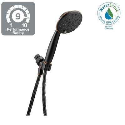 Porter 3-Spray Handheld Showerhead in SpotShield Oil Rubbed Bronze