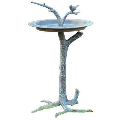 Bird and Twig Birdbath