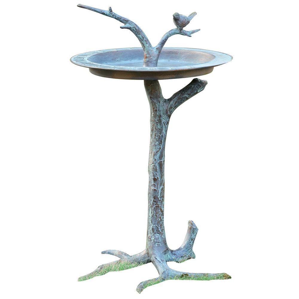 SPI Bird and Twig Birdbath by SPI