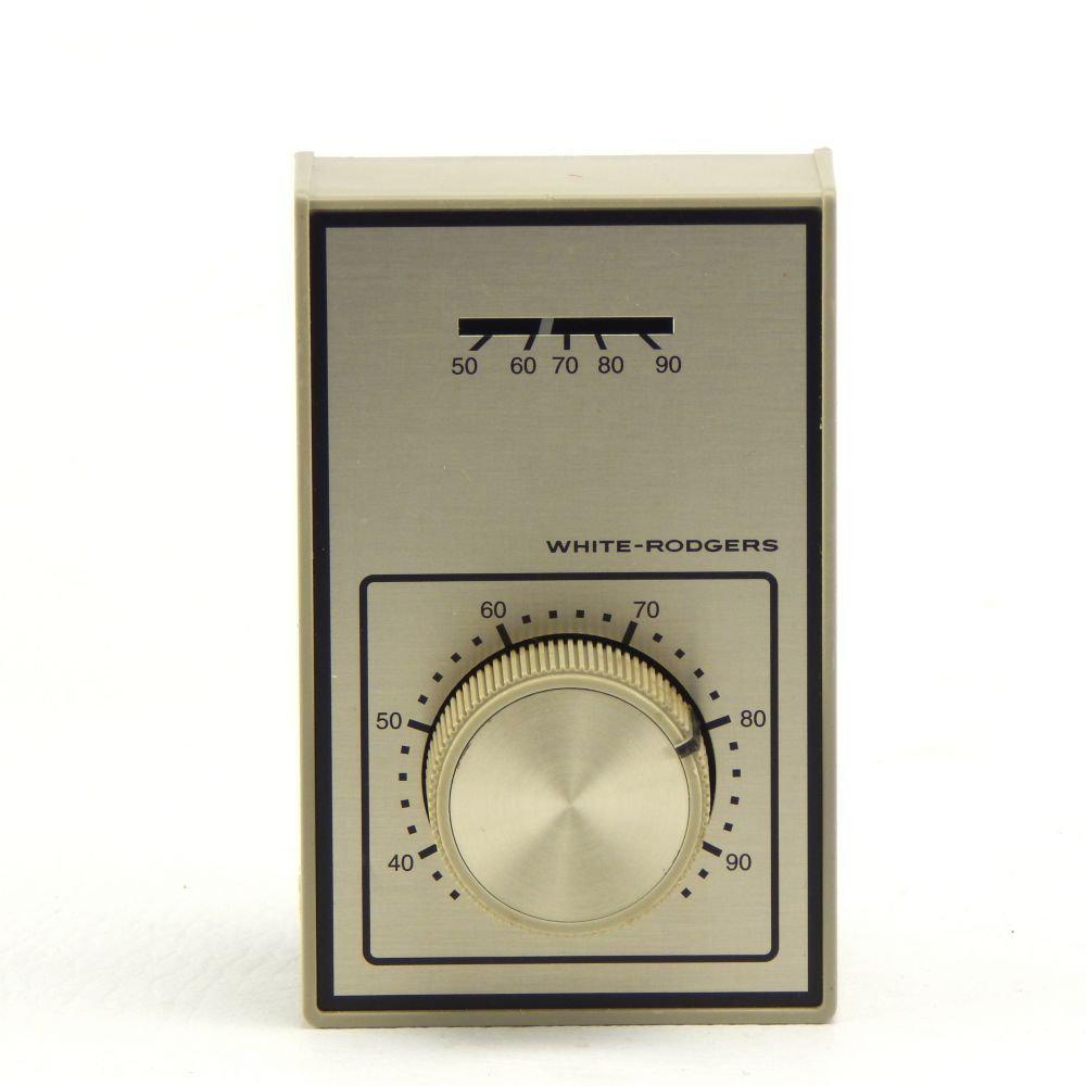 emerson light duty line voltage thermostat spdt 1a10 651. Black Bedroom Furniture Sets. Home Design Ideas