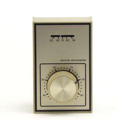 Light-Duty Line Voltage Thermostat, SPDT