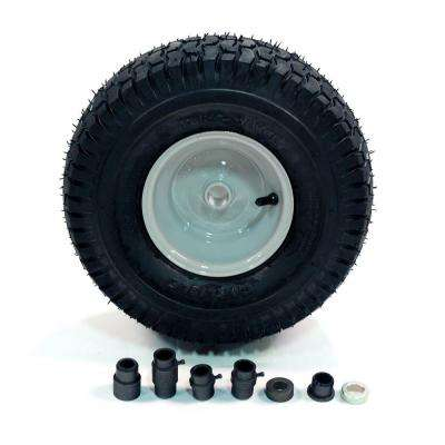 15 in  Universal Front-Rider Wheel for Lawn Tractors