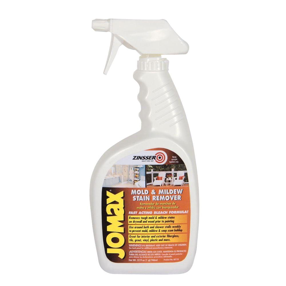 Zinsser 1 qt jomax mold and mildew stain remover case of - Best exterior paint to prevent mold ...