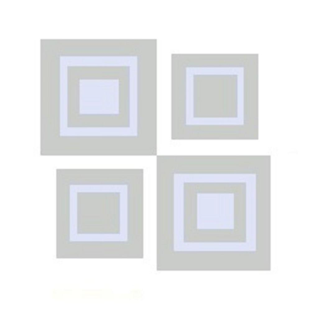 Window Alert UV Modern Square Decal (4-Pack)