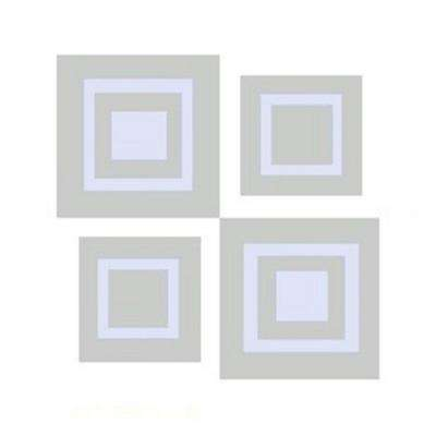 Window Alert UV Modern Square Decal (4-Pack)