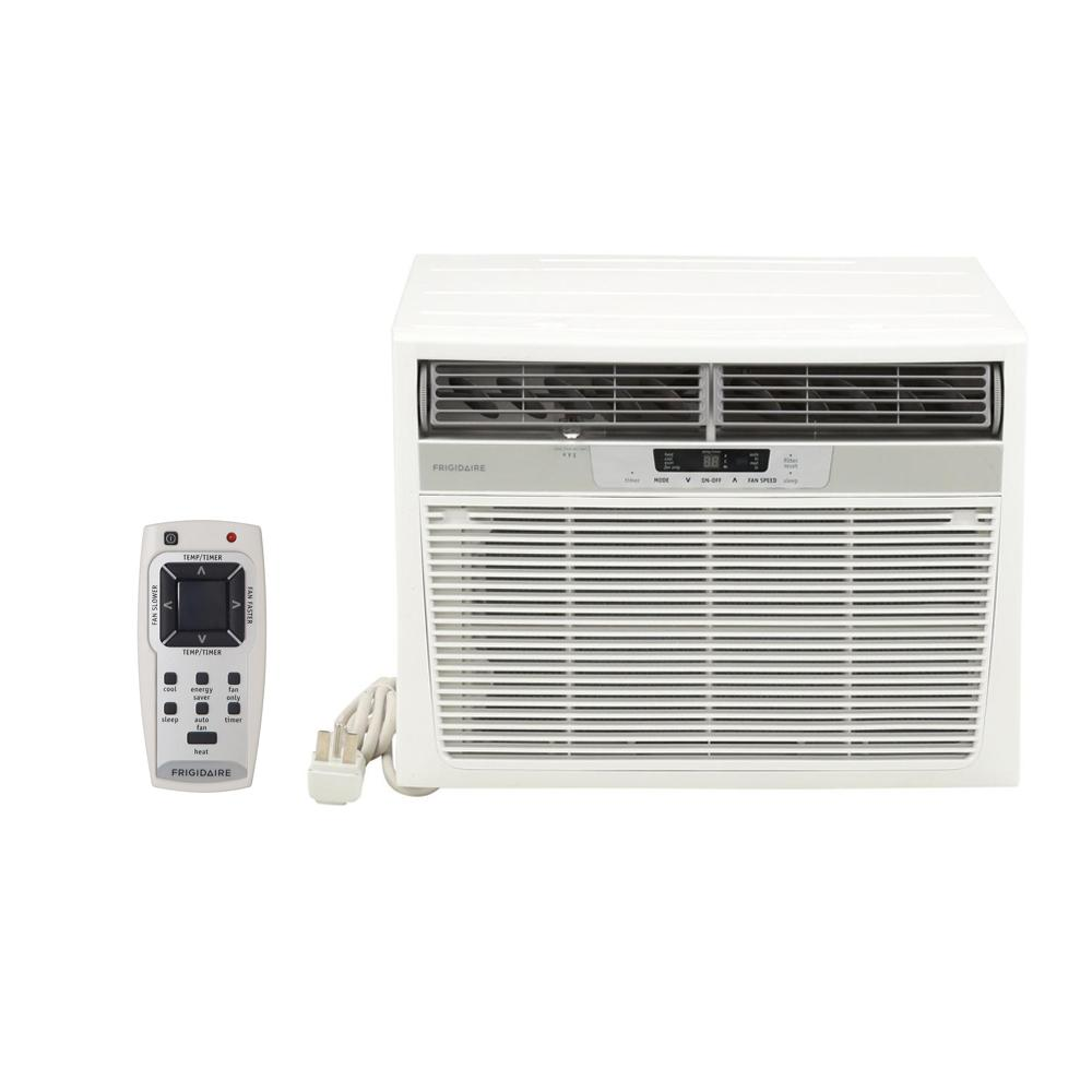 Frigidaire 18500 BTU Window Air Conditioner with Heat and Remote