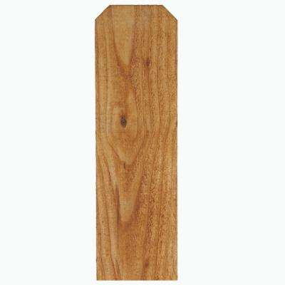 34 In X 6 In X 6 Ft Alta Premium Treated Dog Ear Fence Picket