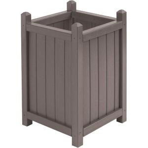 Cal Designs 16 inch Dia Mist All Weather Composite Crown Planter by Cal Designs