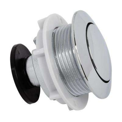 Push Button Actuator, Polished Chrome