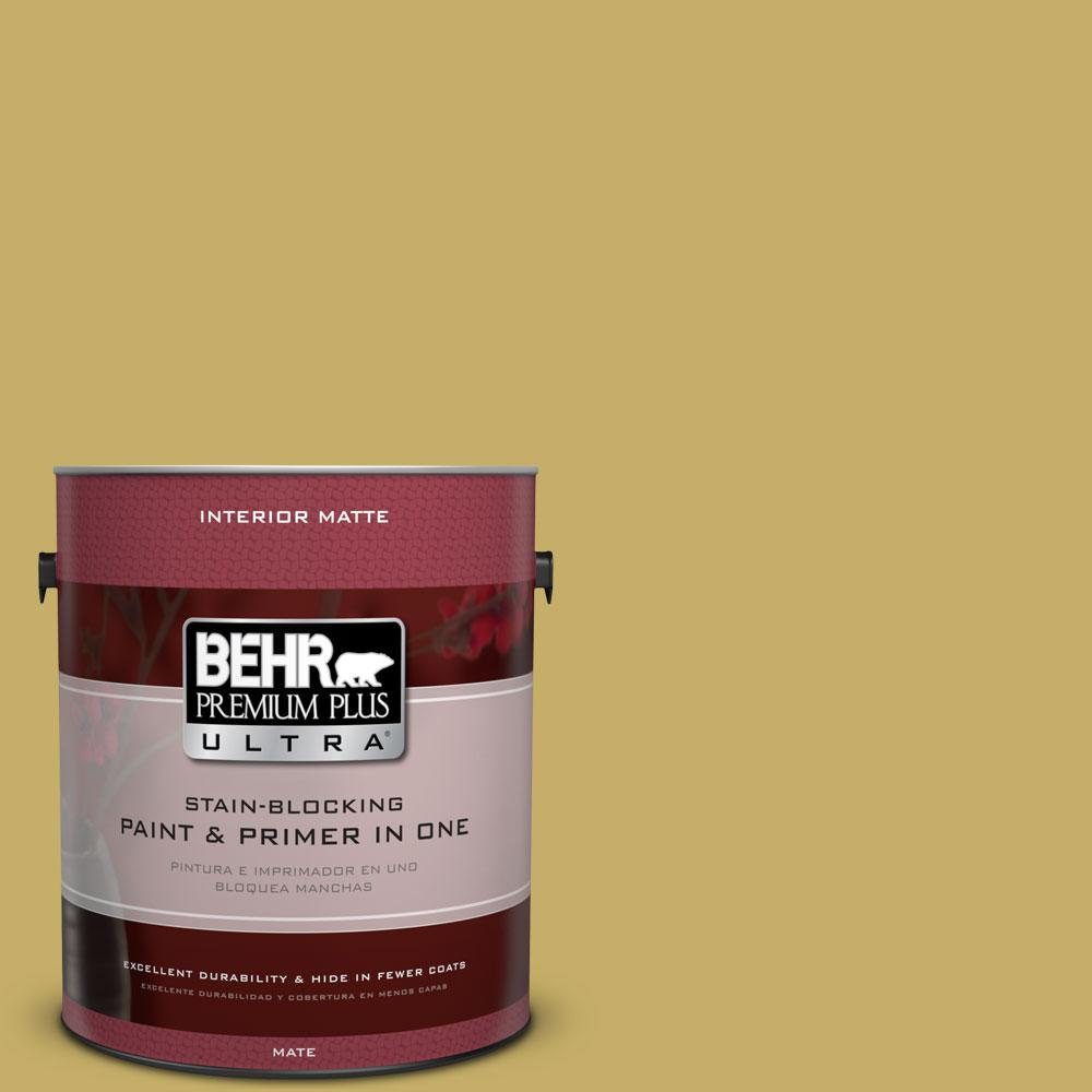 BEHR Premium Plus Ultra 1 gal. #BIC-41 Champagne Grape Matte Interior Paint
