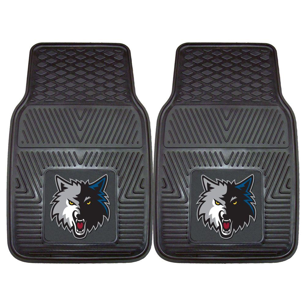 Minnesota Timberwolves 18 in. x 27 in. 2-Piece Heavy Duty Vinyl
