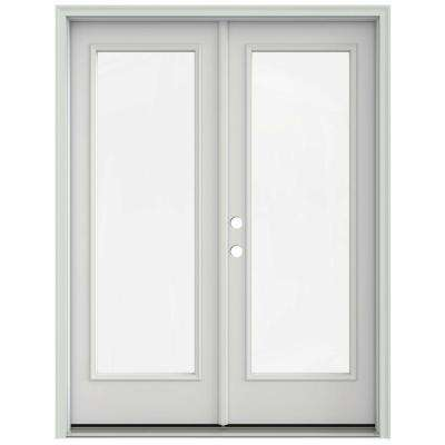 60 in x 80 in primed steel right hand inswing full lite glass - 60 Patio Door