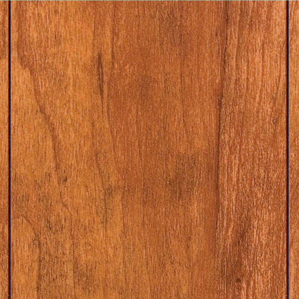 Home Decorators Collection High Gloss Pacific Cherry 8 Mm Thick X 5 In Wide 47 3 4 Length Laminate Flooring 13 26 Sq Ft