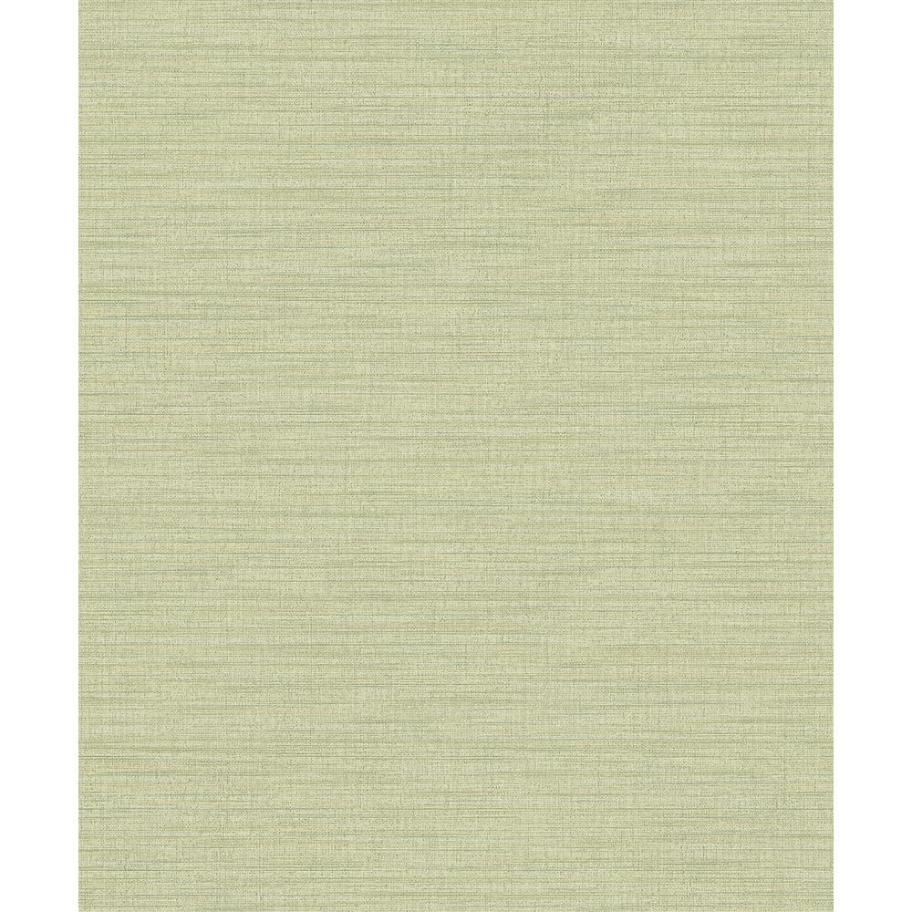 Ashleigh Green Linen Texture Wallpaper Sample-2812-AR40124SAM - The Home Depot