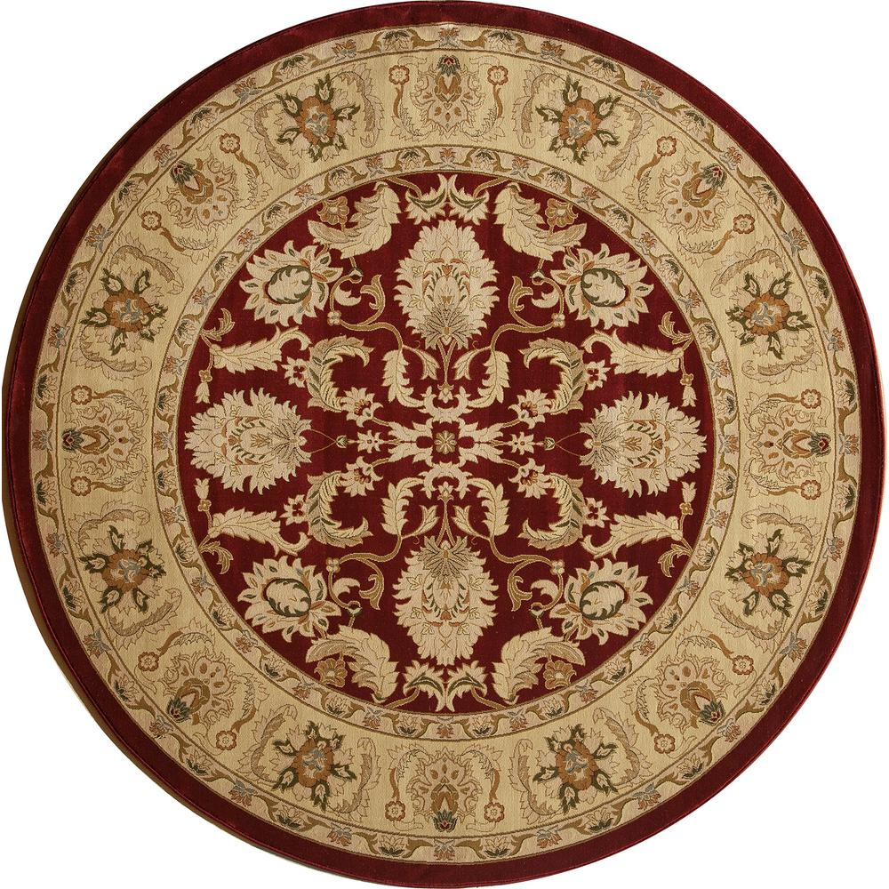 Orian Rugs Como Bisque 7 Ft 10 In Round Area Rug 238587