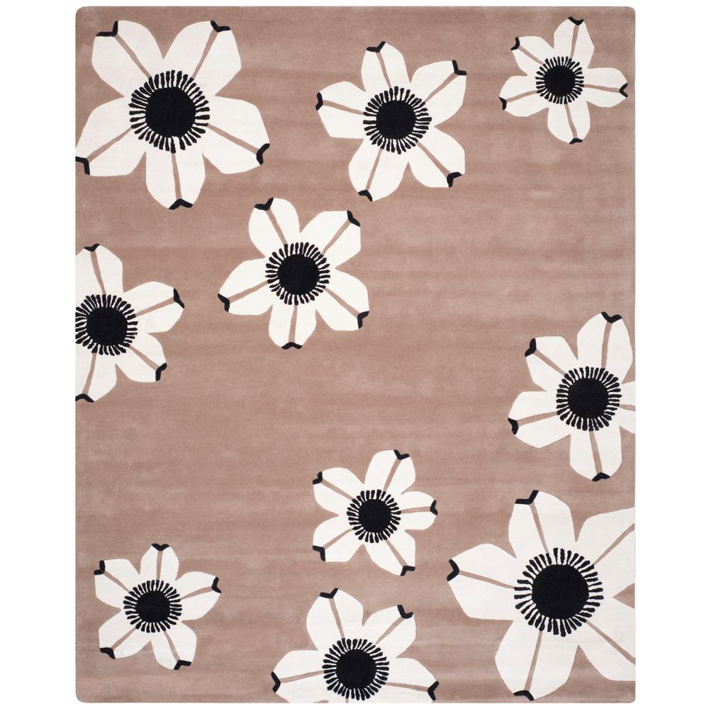 Allure Brown 8 ft. x 10 ft. Area Rug