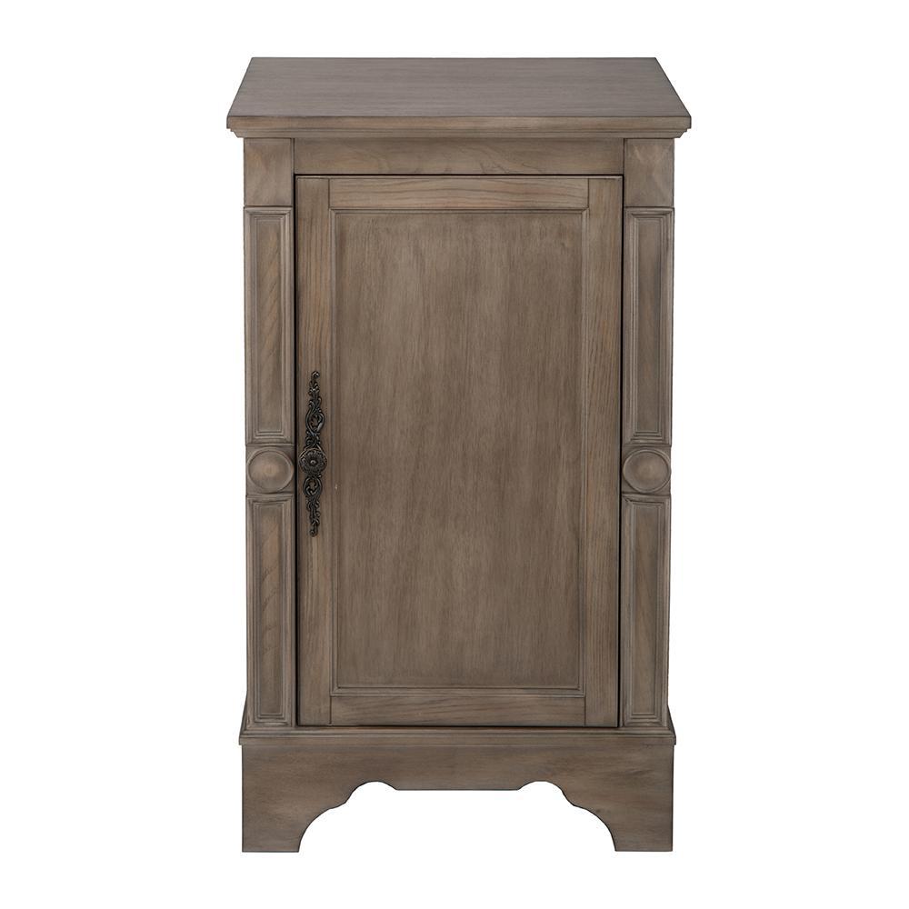 Astoria Park 20 in. W x 35 in. H Floor Cabinet in Antique Ash