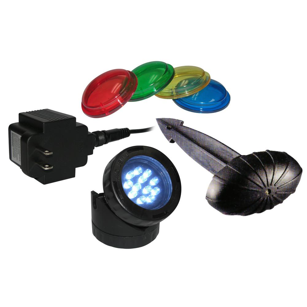 LED Single Light with Photocell and Transformer