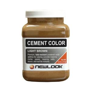 Light Brown Fade Resistant Cement Color