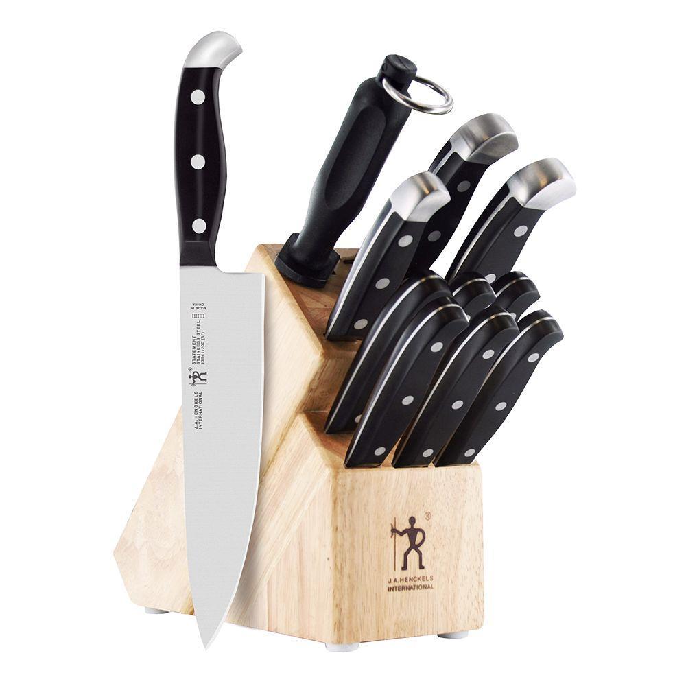 Henckels Statement 12-Piece Knife Block Set 35309-000