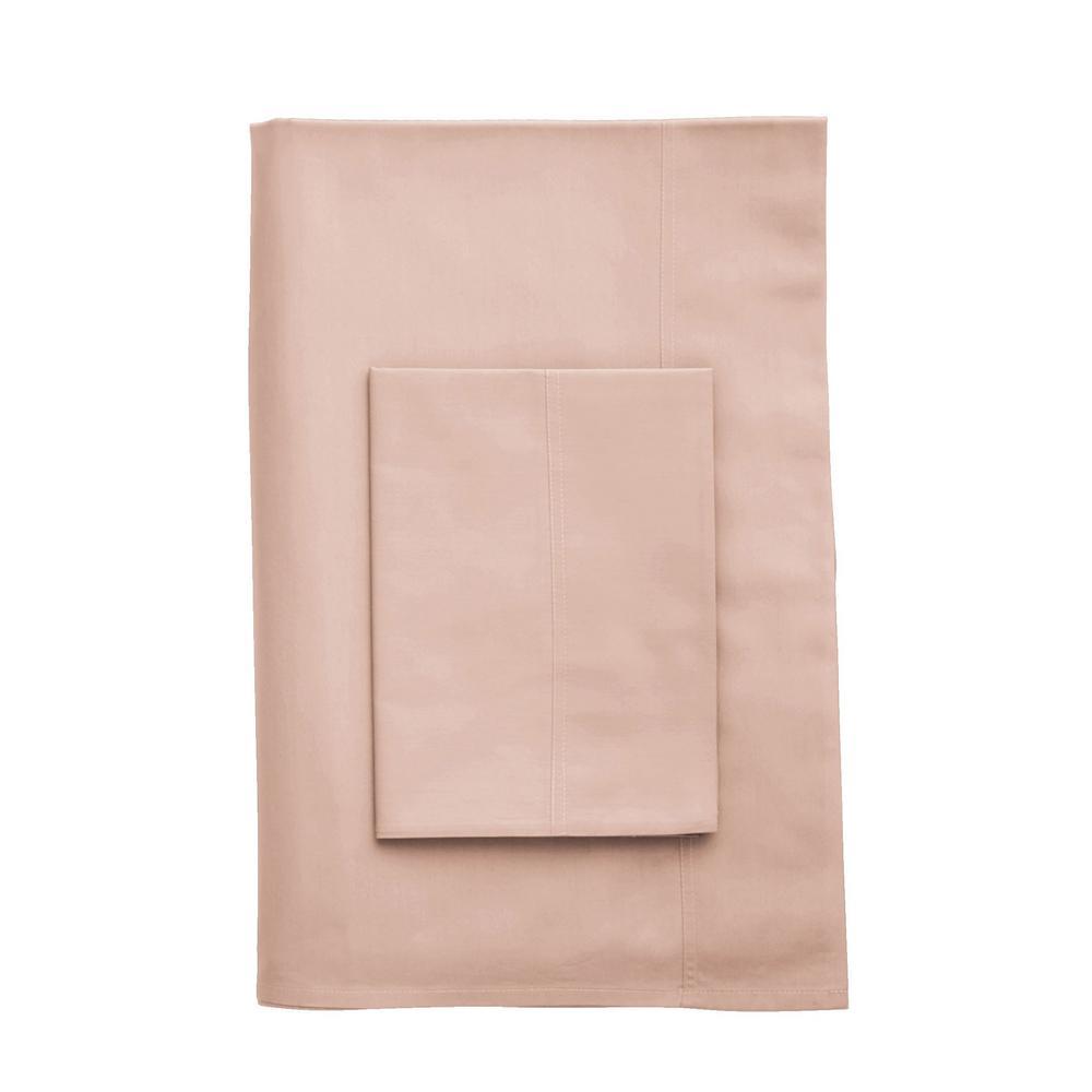 The Company Store Company Cotton Peach Blossom 300 Thread Count Percale