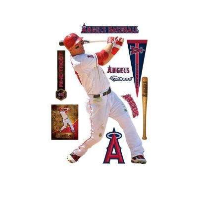 74 in. H x 51 in. W Mike Trout Wall Mural