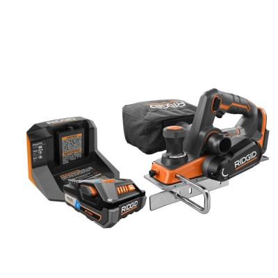 18-Volt OCTANE Cordless Brushless 3-1/4 in. Hand Planer Kit with (1) OCTANE Bluetooth 3.0 Ah Battery and Charger