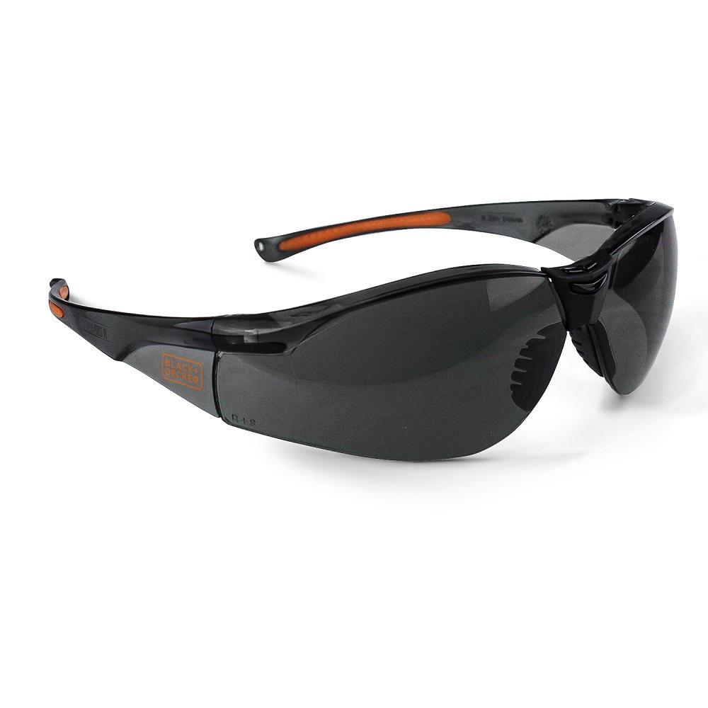 High Performance Lightweight Safety Eyewear with Smoke Lens