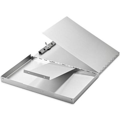 9 in. x 12 in. Aluminum Snap Down Form Holder Clipboard