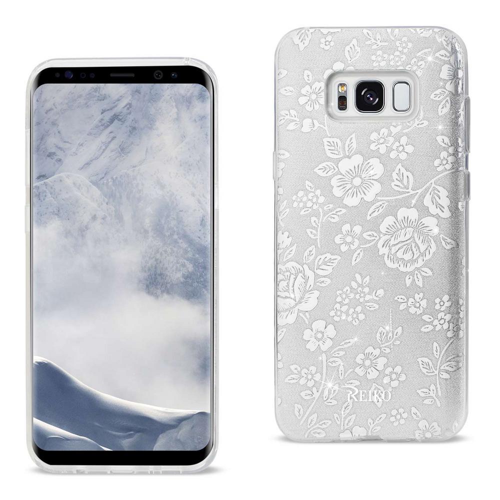 Galaxy S8 Edge Design Case in Silver