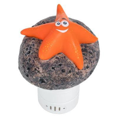 Starfish Floating Chlorine Dispenser in Orange