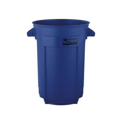 44 Gal. Blue Commercial Trash Can