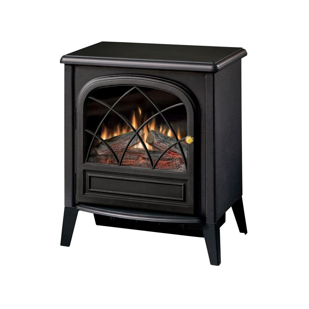 Dimplex Chloe 400 sq. ft. Electric Stove in Black