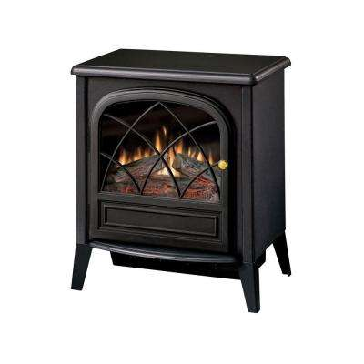 Chloe 400 sq. ft. Electric Stove in Black