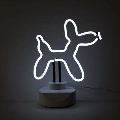 Oliver Gal 'Dog' Plug-in Neon Table Top  Lighted Sign