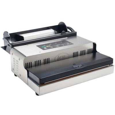 MaxVac 1000 Stainless Steel Food Vacuum Sealer with Bag Holder and Bag Cutter