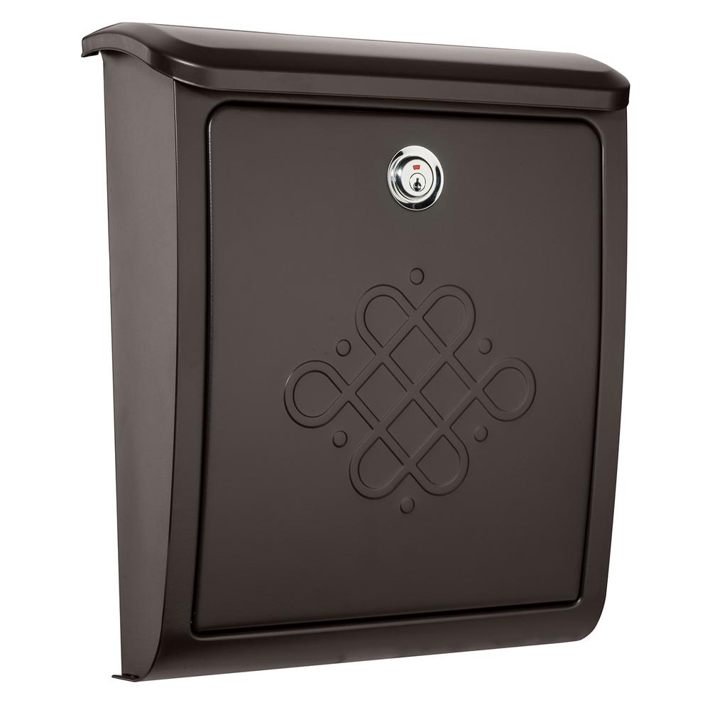 Wall Decor Mailbox : Architectural mailboxes bordeaux locking rubbed bronze