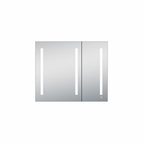 Melania 42 in. x 35 in. x 4 in. Recessed or Surface Mount Medicine Cabinet