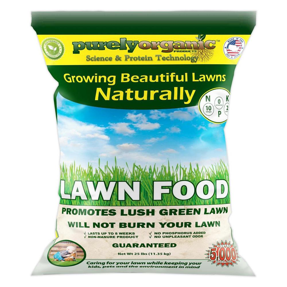 Purely Organic Products 25 lb. Lawn Food Fertilizer-LFJRDK1