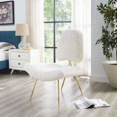 all white living room furniture. Ponder Upholstered Sheepskin Fur Lounge Chair in White MODWAY  Mid Century Modern Living Room Furniture