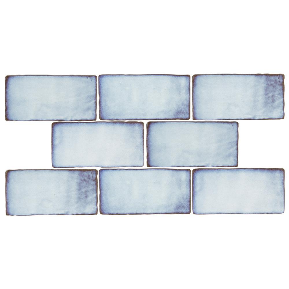 Merola Tile Antic Special Via Lactea 3 in. x 6 in. Ceramic Wall Subway Tile (1 sq. ft. / pack)
