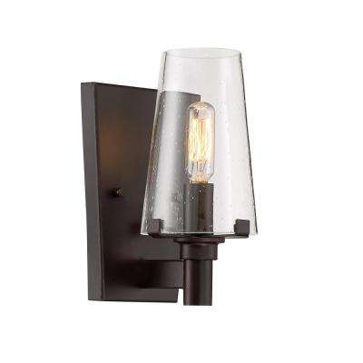 Hyde Park 1-Light Vintage Bronze Wall Sconce