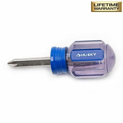 #2 x 1-1/2 in. Square Shaft Stubby Phillips Screwdriver