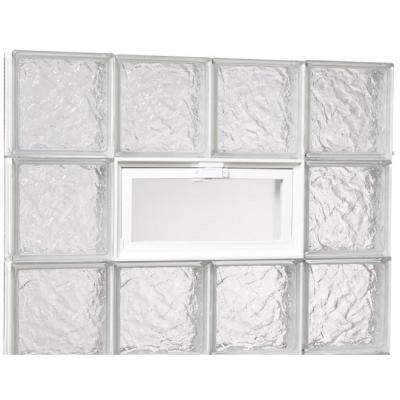 glass block window vent replacement jworldlive ice pattern glass block masonry venting replacement windows accessories