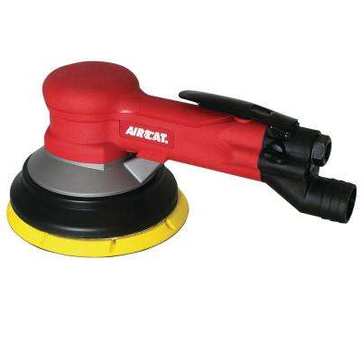6 in. Central Vac Geared Sander (3/16 in. Orbit)