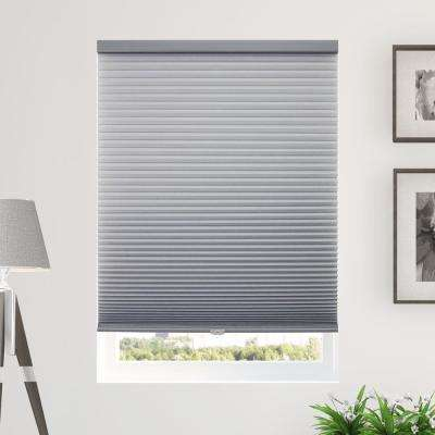 Cut-to-Width Pebble 9/16 in. Light Filtering Cordless Cellular Shade - 70 in. W x 64 in. L