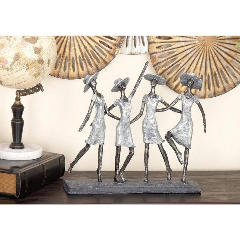 Litton Lane 15 in. x 13 in. The Ladies Decorative Figurine